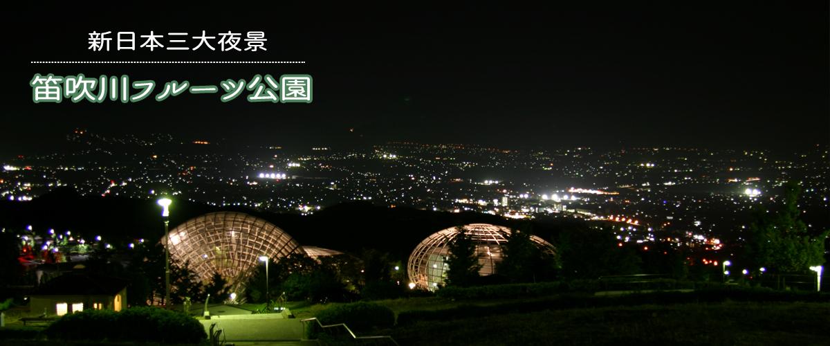 フルーツ公園夜景